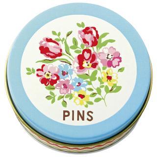 Buy Cath Kidston Garden Ditsy Pin Tin Online at johnlewis.com