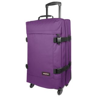 Buy Eastpak Trans4 69cm Medium 4-Wheel Suitcase, Purple Online at johnlewis.com