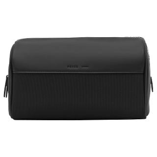 Buy Reiss Hamburg Contrast Textured Wash Bag, Navy/Black Online at johnlewis.com
