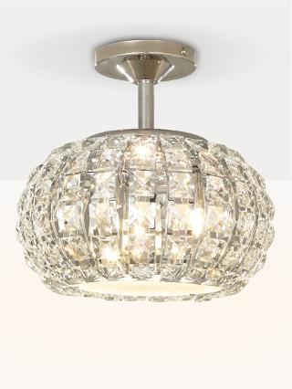 Buy John Lewis Venus Ceiling Light, Crystal and Chrome Online at johnlewis.com