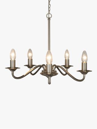 Buy John Lewis Wakefield 5 Light Ceiling Light, Satin Nickel Online at johnlewis.com