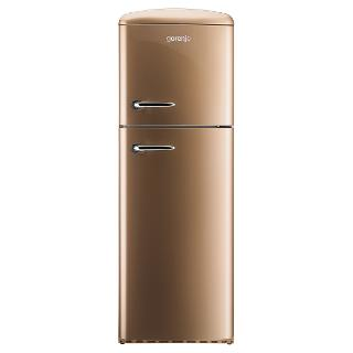 Buy Gorenje RF60309OCO Freestanding Fridge Freezer, A++ Energy Rating, Right-Hand Hinge, 60cm Wide, Royal Coffee Online at johnlewis.com