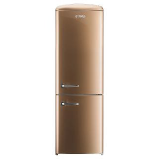 Buy Gorenje RK60359O Freestanding Fridge Freezer, A++ Energy Rating, Right-Hand Hinge, 60cm Wide, Royal Coffee Online at johnlewis.com