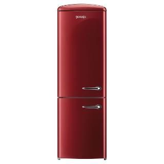 Buy Gorenje RK60359O-L Freestanding Fridge Freezer, A++ Energy Rating, Left-Hand Hinge, 60cm Wide, Burgundy Red Online at johnlewis.com