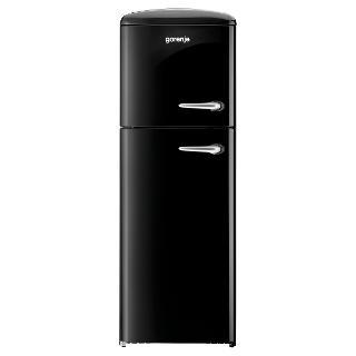 Buy Gorenje RF60309O-L Freestanding Fridge Freezer, A++ Energy Rating, Left-Hand Hinge, 60cm Wide, Black Online at johnlewis.com