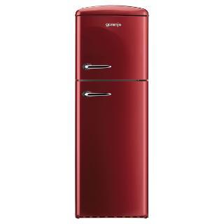 Buy Gorenje Rf60309OR Freestanding Fridge Freezer, A++ Energy Rating, Right-Hand Hinge, 60cm Wide, Burgundy Red Online at johnlewis.com