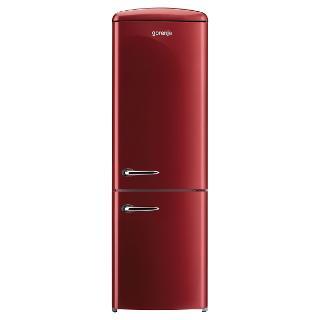 Buy Gorenje RK60359O Freestanding Fridge Freezer, A++ Energy Rating, Right-Hand Hinge, 60cm Wide, Burgundy Red Online at johnlewis.com