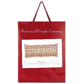 Buy The Historical Sampler Company Warm As Toast Needlecraft Kit, Multi Online at johnlewis.com