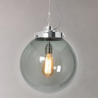 Buy Original BTC Globe Pendant Light, Anthracite Online at johnlewis.com