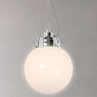 Buy Original BTC Globe Ceiling Light, Opal, Small Online at johnlewis.com