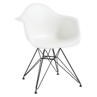 Buy Vitra Eames DAR Armchair Online at johnlewis.com