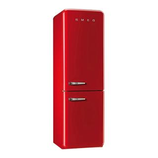 Buy Smeg FAB32RNR Fridge Freezer, A++ Energy Rating, Right-Hand Hinge, 60cm Wide, Red Online at johnlewis.com