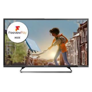 "Buy Panasonic Viera TX-40CX680B LED 4K Ultra HD Smart TV, 40"" with Freeview HD and Built-In Wi-Fi Online at johnlewis.com"