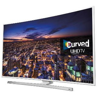 "Buy Samsung UE55JU6510 Curved 4K Ultra-HD Smart TV, 55"" with Freeview HD/freesat HD, Built-In Wi-Fi and Intelligent Navigation Online at johnlewis.com"