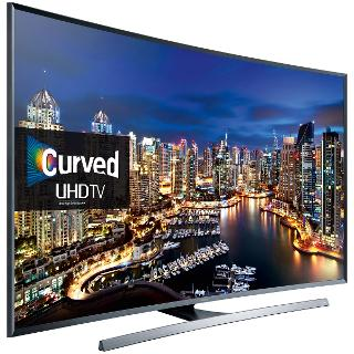 "Buy Samsung UE65JU7500 Curved LED 4K Ultra HD 3D Smart TV, 65"" with Freeview/freesat HD & Built-in Wi-Fi Online at johnlewis.com"