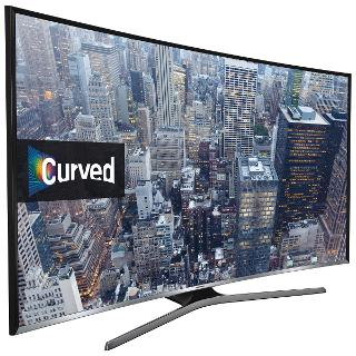 "Buy Samsung UE40J6300 Curved LED Full HD 1080p Smart TV, 40"" with Freeview HD and Built-In Wi-Fi Online at johnlewis.com"
