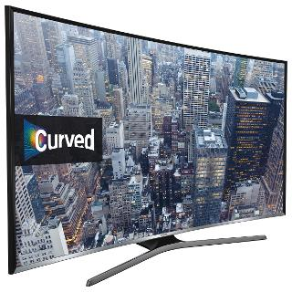 "Buy Samsung UE48J6300 Curved LED Full HD 1080p Smart TV, 48"" with Freeview HD and Built-In Wi-Fi Online at johnlewis.com"