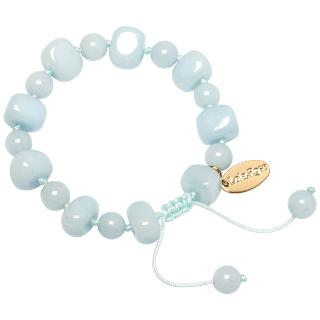 Buy Lola Rose Sury Adjustable Stone Bracelet, Ice Blue Quartzite Online at johnlewis.com