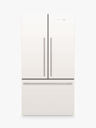 Buy Fisher & Paykel RF610ADW4 Fridge Freezer, A+ Energy Rating, 90cm Wide, White Online at johnlewis.com