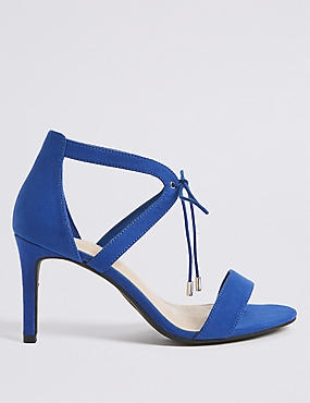Extra Wide Fit Stiletto Heel Sandals, COBALT, catlanding
