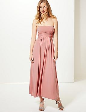 Multiway Strap Maxi Dress, ANTIQUE ROSE, catlanding