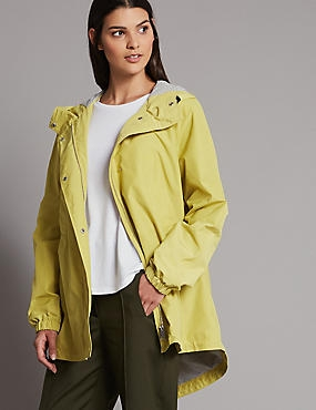 Drawstring Hem Parka with Stormwear™, WINTER LIME, catlanding