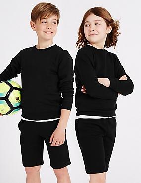 Unisex Sweatshirt, BLACK, catlanding