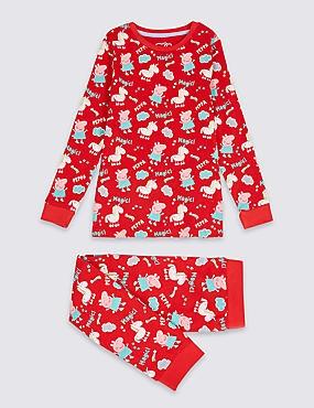 Peppa Pig™ Pyjamas (1-7 Years), RED MIX, catlanding