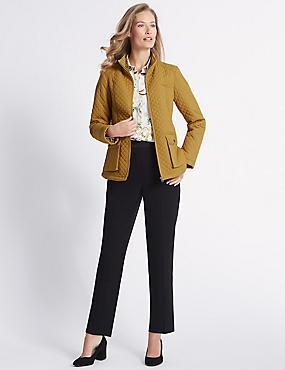 Padded & Quilted Jacket with Stormwear™, ANTIQUE GOLD, catlanding