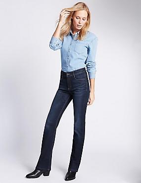 Ozone Slim Bootcut Jeans, INDIGO MIX, catlanding