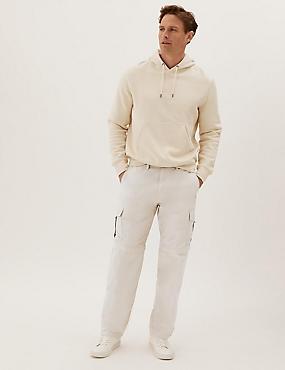 Regular Fit Trekking Trousers with Belt , STONE, catlanding