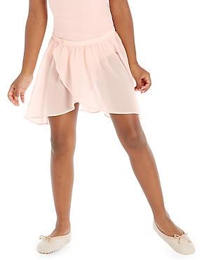Girls' Ballet Tulip Skirt, PINK, catlanding