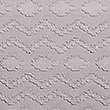 Pure Cotton Zig Zag Textured Bedding Set, GREY, swatch