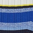 Striped Round Neck Jumper, NAVY MIX, swatch