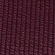 Textured Satin Round Neck Long Sleeve Tops , PLUM, swatch
