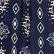 Printed Tapered Leg Trousers, NAVY MIX, swatch