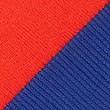 Pure Cotton Shoulder Tie Striped Jumper, TOMATO, swatch