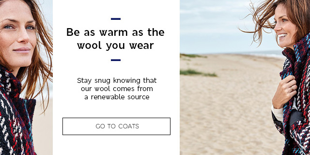 Be as warm as the wool you wear