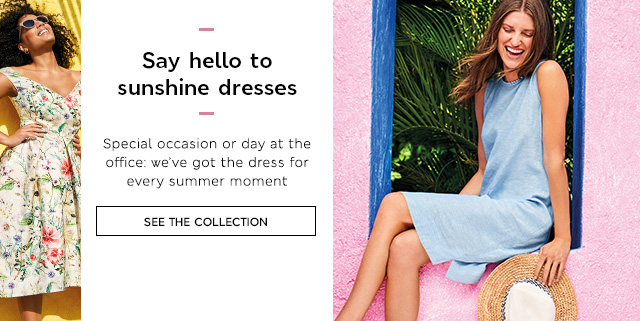 Say hello to sunshine dresses
